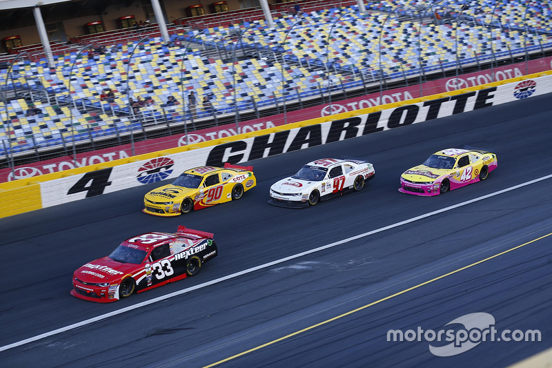 Brandon Jones, Richard Childress Racing Chevrolet, Martin Roy, Chevrolet, Jordan Anderson, Chevrolet