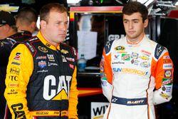 Ryan Newman, Richard Childress Racing, Chevrolet; Chase Elliott, Hendrick Motorsports, Chevrolet