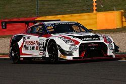 #22 Nissan GT Academy Team RJN, Nissan GT-R Nismo GT3: Riccardo Sanchez, Romain Sarazin, Sean Walkin