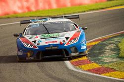 #10 Ombra Racing, Lamborghini Huracan GT3: Stefano Costantini, Giovanni Berton, Matteo Beretta, Stefano Gattuso