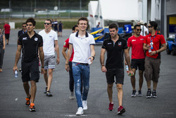 Daniel de Jong, MP Motorsport, Raffaele Marciello, RUSSIAN TIME, Nabil Jeffri, Arden International, Arthur Pic, Rapax and Norman Nato, Racing Engineering