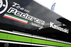Motorhome von Team Pedercini