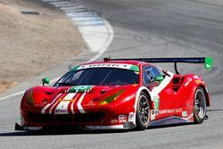 #63 Scuderia Corsa Ferrari 488 GT3: Christina Nielsen, Alessandro Balzan