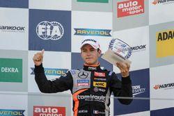 Podium, Rookie, Anthoine Hubert, Van Amersfoort Racing Dallara F312 - Mercedes-Benz