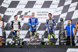 Podium: 1. Maverick Viñales, Team Suzuki MotoGP; 2. Cal Crutchlow, Team LCR, Honda; 3. Valentino Ros