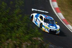 Frank Stippler, Anders Fjordbach, Markus Winkelhock, Phoenix Racing, Audi R8 LMS