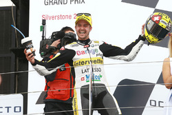 Podium: racewinnaar Thomas Lüthi, Interwetten
