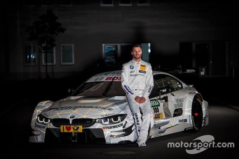 BMW feiert 100. Geburtstag mit Sonderdesign bei Martin Tomczyk, ...