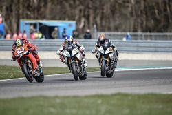 Lorenzo Savadori, IodaRacing Team, Markus Reiterberger, Althea BMW Team et Jordi Torres, Althea BMW