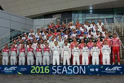 WEC rijders groepsfoto 2016