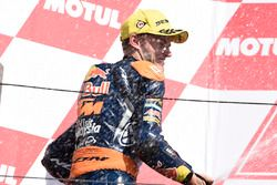 Podium: second place Brad Binder, Red Bull KTM Ajo