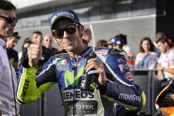 Polesitter Valentino Rossi, Yamaha Factory Racing