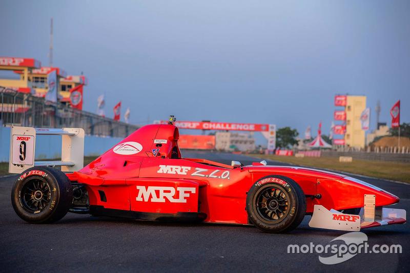 MRF 1600 car