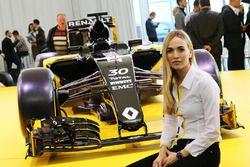 Carmen Jorda, pilote de développement Renault F1 Team