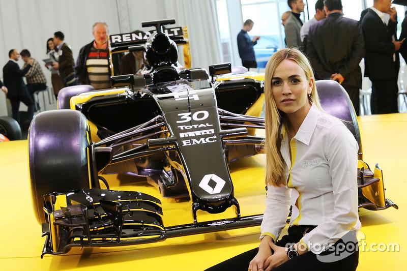 Fórmula Uno Carmen Jorda, Renault F1 Team piloto de desarrollo