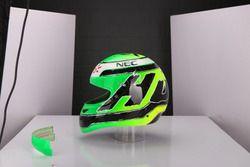 Nico Hulkenberg, casco 2016