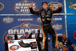 Ganador de la carrera Jesse Little