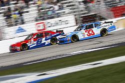 Darrell Wallace Jr., Roush Fenway Racing Ford, Brandon Jones, Richard Childress Racing Chevrolet