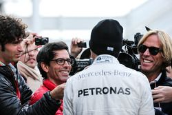Nico Rosberg, Mercedes AMG F1 con los medios