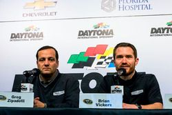 Press Conference: Greg Zipadelli and Brian Vickers, Stewart-Haas Racing Chevrolet
