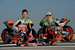 Alvaro Bautista und Stefan Bradl, Gresini Racing Aprilia RS-GP 2016