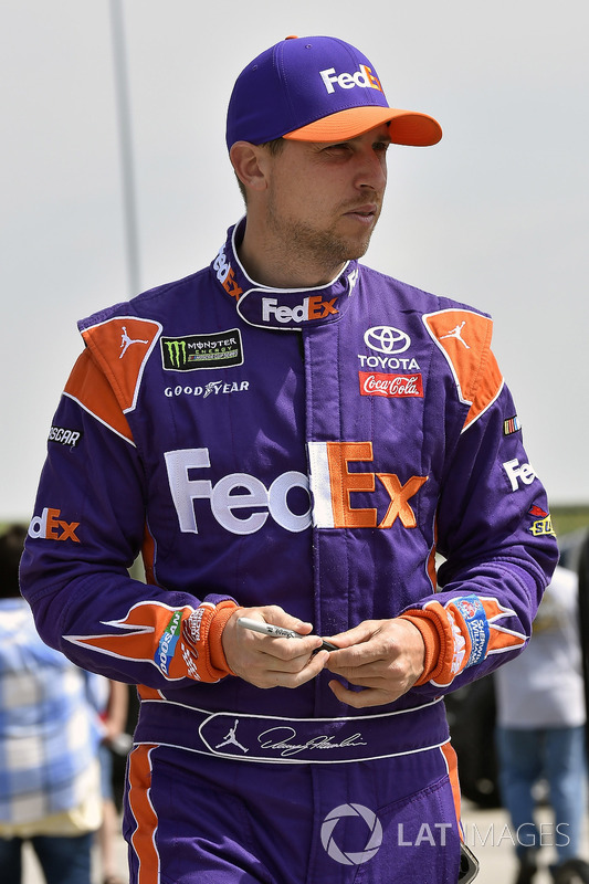 Denny Hamlin, Joe Gibbs Racing, Toyota Camry FedEx Carga