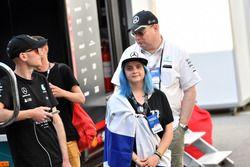 Valtteri Bottas, Mercedes-AMG F1 fan