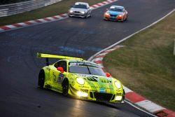 #911 Manthey Racing Porsche 911 GT3 R: Kevin Estre, Romain Dumas, Laurens Vanthoor, Earl Bamber