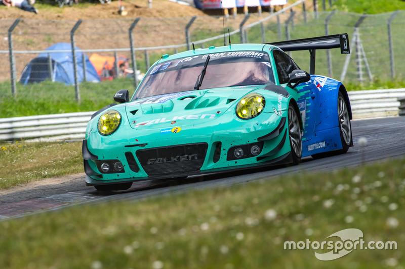 10. #44 Falken Motorsports Porsche 911 GT3 R: Klaus Bachler, Sven Müller, Martin Ragginger, Dirk Werner