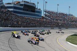 Start: Will Power, Team Penske Chevrolet líder