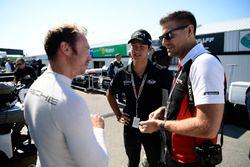 #911 Porsche Team North America Porsche 911 RSR, GTLM: Patrick Pilet & Porsche GT3 Cup driver Trenton Estep.