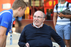 Frank Williams, Williams Team Owner and Billy Monger