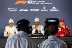 Valtteri Bottas, Mercedes-AMG F1 W09, Lewis Hamilton, Mercedes-AMG F1 en Kimi Raikkonen