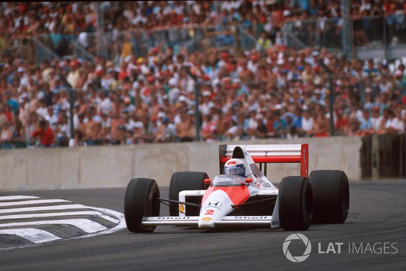 Alain Prost - McLaren MP4 / 5-Honda - GP de Gran Bretaña de 1989