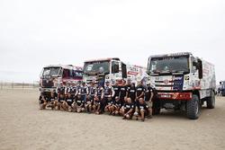 #541 Tatra Buggyra Racing: Pavel Vrnak, Peter Lesak, Filip Skrobanek, #532 Tatra Buggyra Racing: Mar