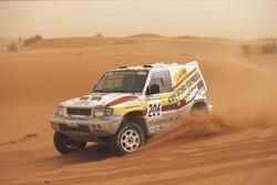 Jean-Pierre Fontenay, Gilles Picard, Mitsubishi Pajero