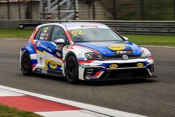Sunny Wong, Volkswagen Golf GTI TCR, TeamWork Motorsport