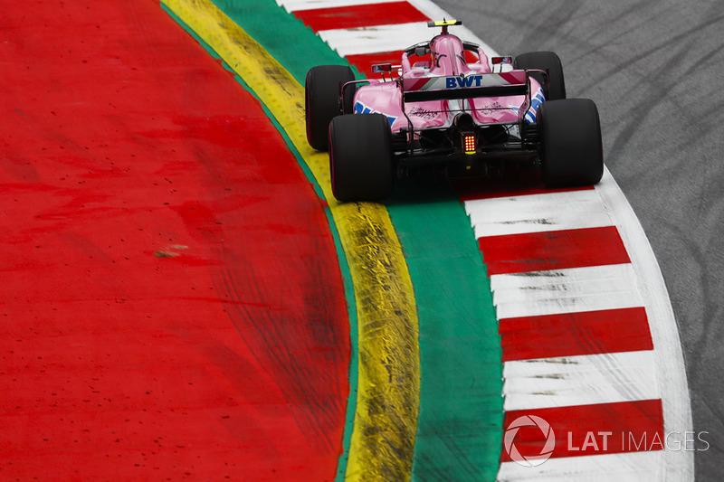 11. Esteban Ocon, Force India VJM11