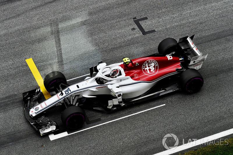 17. Шарль Леклер, Alfa Romeo Sauber C37 (штраф в пять позиций за смену коробки передач)