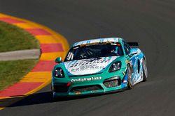 #5 Bodymotion Racing, Porsche Cayman GT4 MR, GS: Stevan McAleer, Joe Robillard