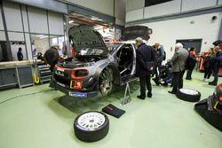 Car of Sébastien Loeb , Daniel Elena, Citroën World Rally Team Citroën C3 WRC