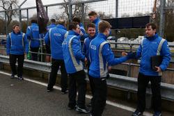 Carlin Motorsport celebrate