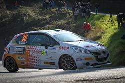 Stefano Strabello, Giuseppe Ceschi , Peugeot 208 R2B