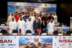 المؤتمر الصحافي لرالي أبوظبي الصحراوي