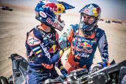 Sam Sunderland, Matthias Walkner, KTM Factory Racing