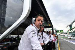 Спортивный директор Mercedes AMG Рон Мидоуз