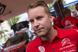 Mads Ostberg, Citroën World Rally Team