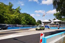 Preparativi per l'ePrix di Zurigo