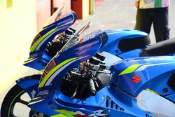 Team Suzuki MotoGP bike