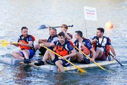Il team Williams nella gara di Raft
